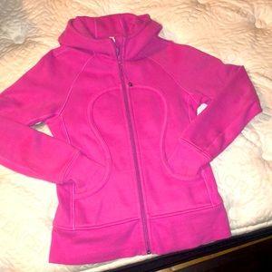 Pink scuba lululemon jacket